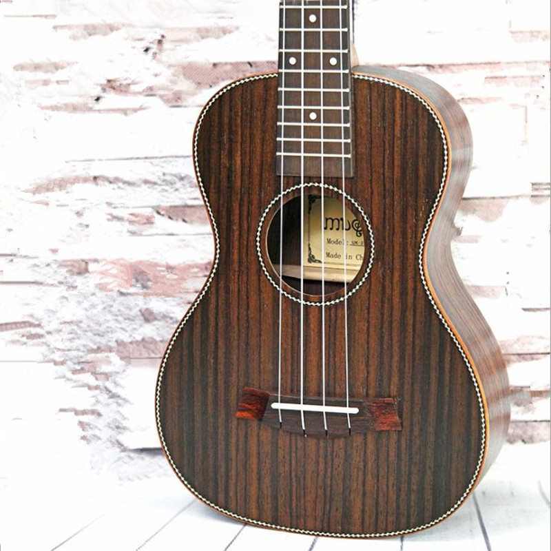 23 inch Wooden MINI Guitar 4 strings Ukulele Musical Instruments Professional Bass ukulele Rosewood UK-23QMG moonembassy ukulele bass strings ubass string accessories