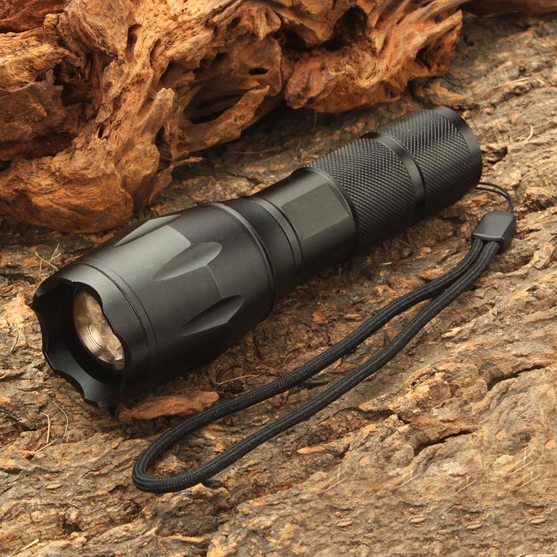 UltraFire 18650 Flashlight XML-T6 Transmitter Luz Bulb 5 Mode Zoom Tactical Torch Lantern Hunting Waterproof Flashlight