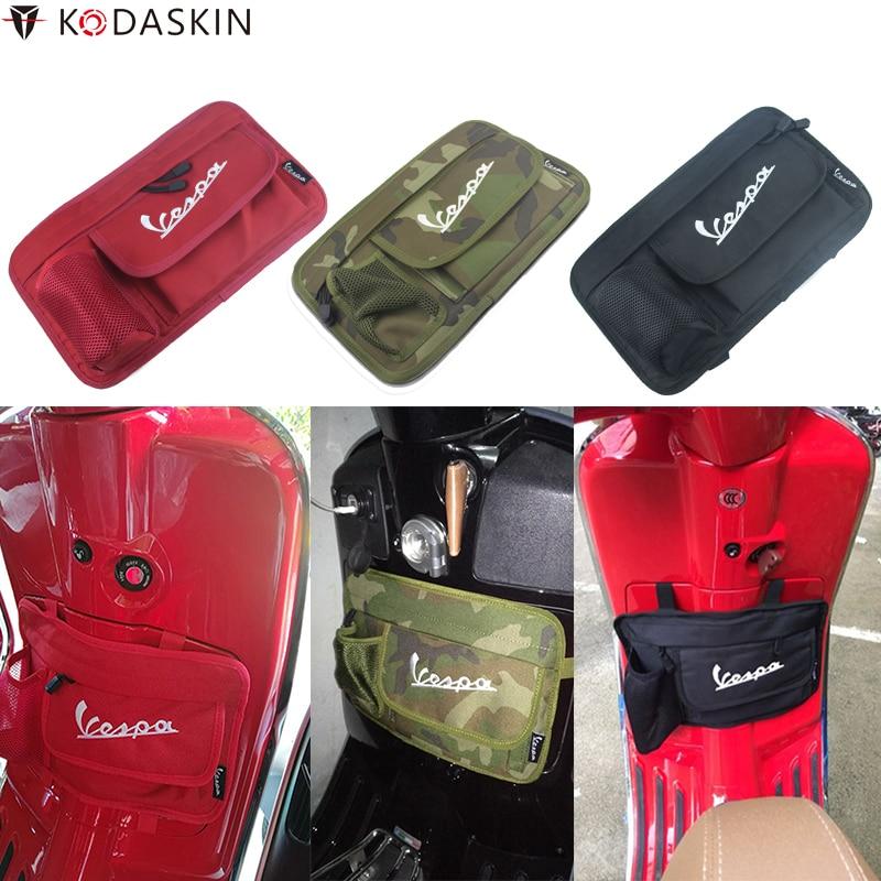KODASKIN Storage Bags Glove Bag for Italia Piaggio Vespa Adapter GTS LX LXV Sprint Primavera