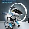RC Интеллектуальный Электрический динозавр с дистанционным управлением робот механический дракон с функциями музыкального освещения детс...