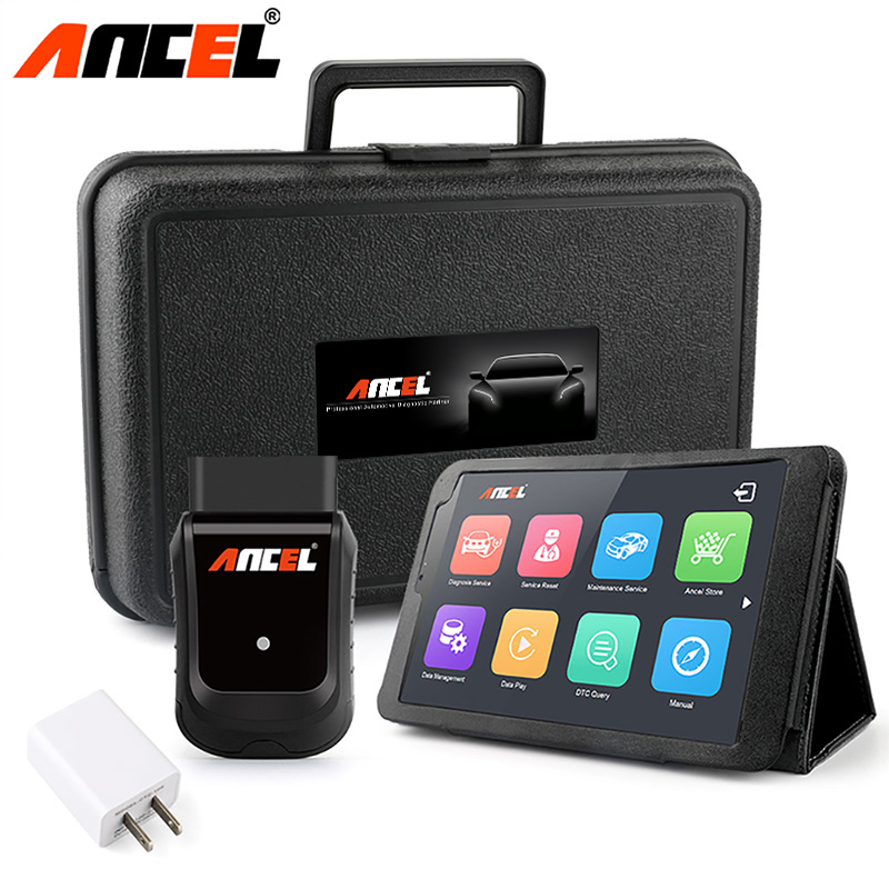 Ancel X5 Wifi OBD2 Automotive Scanner Windows Tablet ODB2 Car Diagnostic Tool ABS EPB Airbag DPF Reset Full System OBD2 Scanner ancel fx6000 full system obd2 automotive scanner for transmission abs airbag sas engine epb check reset programming obd2 scanner