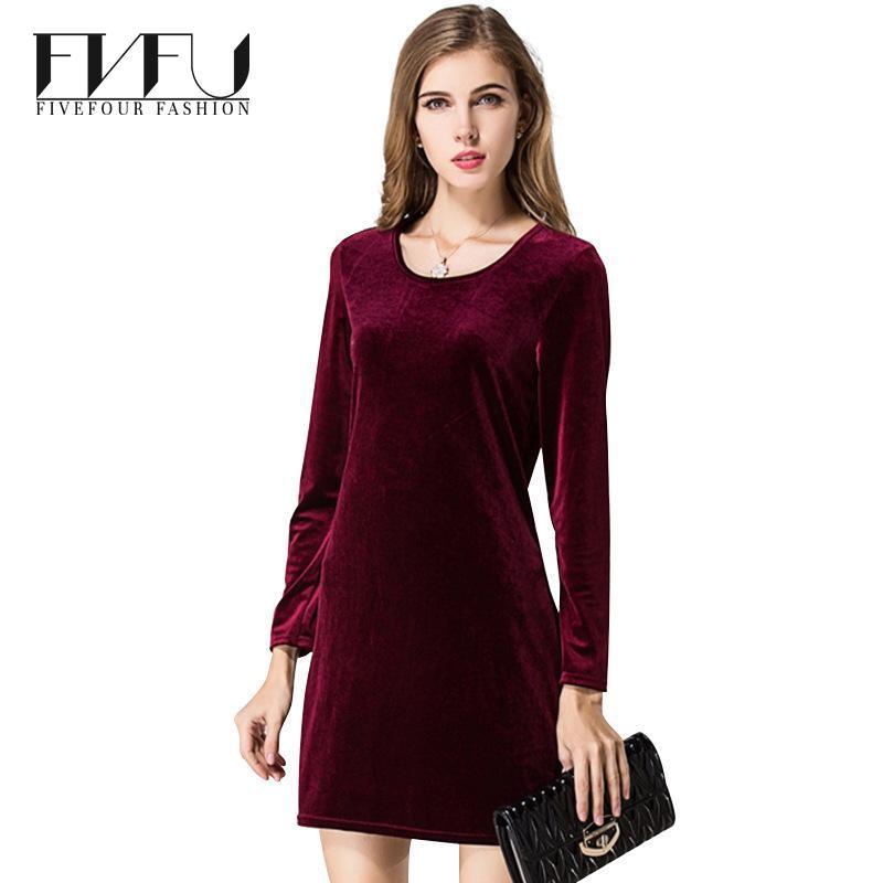 five four 2017 New Style Dress Women Long Sleeve Underwear Dress Bodycon Sexy Pencil Dress Soft Casual O-Neck Spring Autumn Vestidos