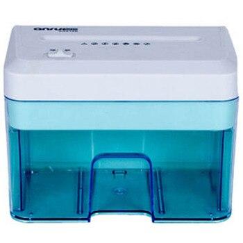 Mini trituradora de papel eléctrica, 2*10mm, tira trituradora de archivos, oficina, hogar, 2.1L, trituradora eléctrica de papel, máquina trituradora, 110 V-220 v, caliente