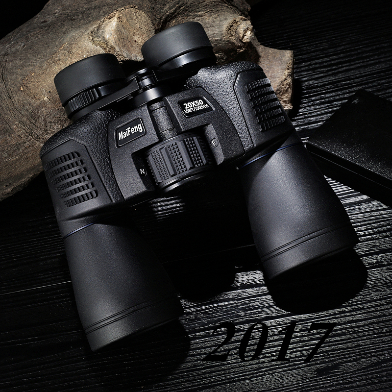 Maifeng binoculars 20X50 New telescope HD Zoom High quality powerful binocular lll Night Vision Not infrared military telescopio powerful professional binoculars baigish 20x50 military telescope lll night vision telescopio hd high power zoom for hunting