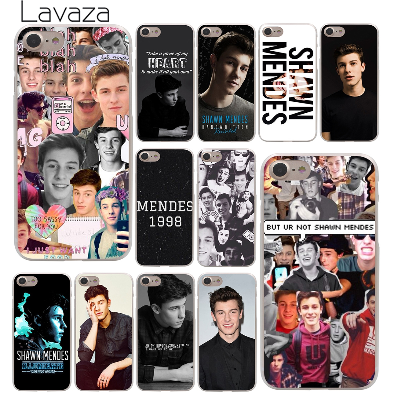 Shawn Mendes Magcon Hard Case Transparent for iPhone 7 7 Plus 6 6s Plus 5 5S SE 5C 4 4S