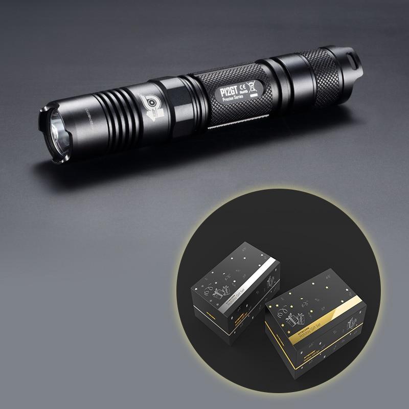 NITECORE 10th Anniversary Commemorative Edition P12GT 1000 lumen CREE XP-L HI V3 LED Flashlight 7 Modes Pocket EDC Free Shipping nitecore mh25gt 1000lm cree xp l hi v3 led rechargeable flashlight torch