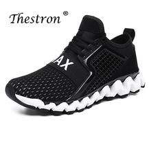 New Cool Men Brand Shoe Designer Yellow Blue Casual Mens Sneakers Mesh Breathable Shoes Anti-Slip Walking Youth