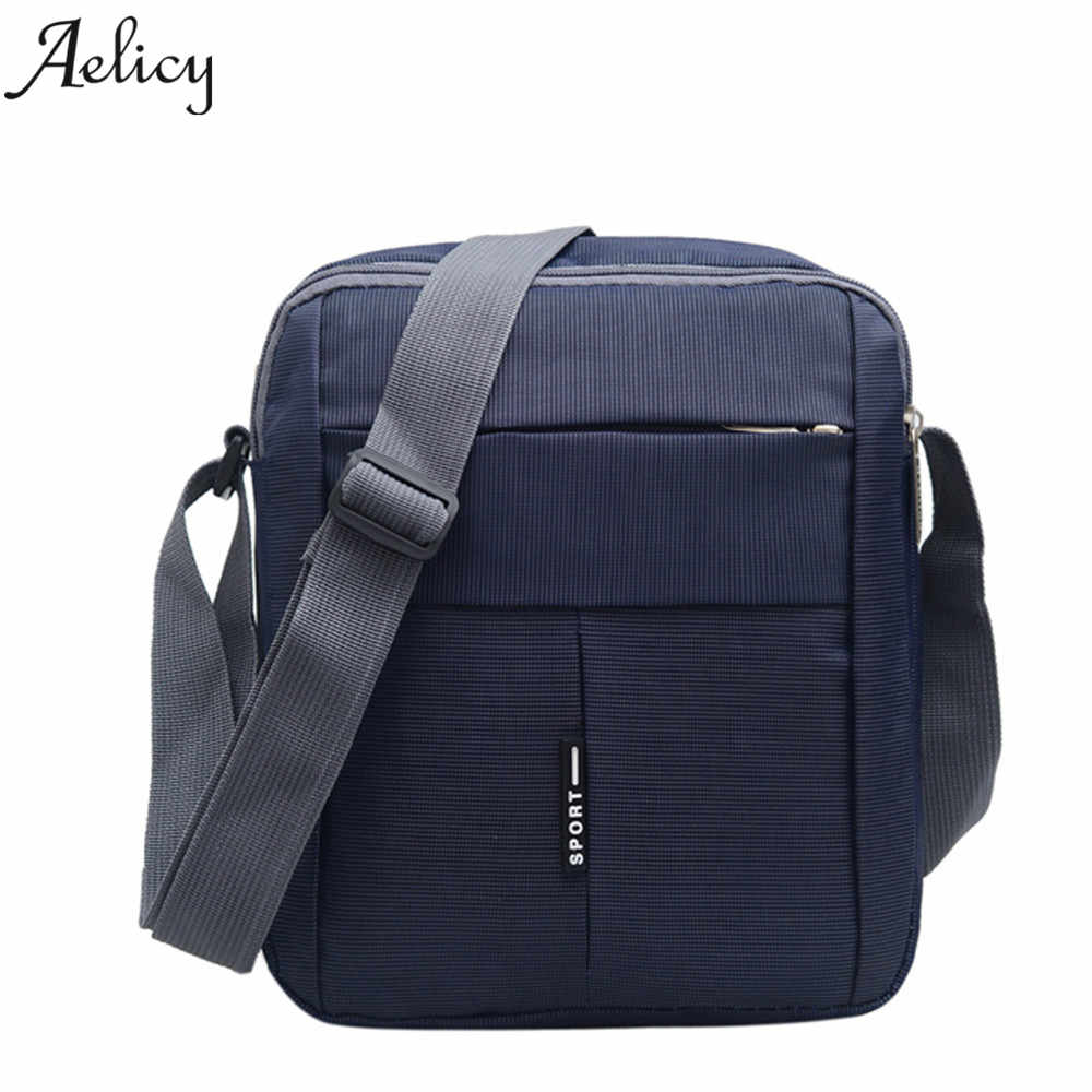 Aelicy Mens Bag Messenger Bags Wateproof High Quality Oxford Zipper Bag Crossbody For Ma ...