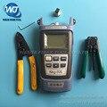 4 ШТ. FTTH Напольный кабель стриптизерши + CFS-2 Волокна зачистки плоскогубцы + King-60S Волоконно-оптический измеритель мощности