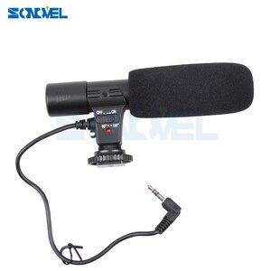 Image 4 - Mic 01 Máy Ảnh Chuyên Nghiệp Bên Ngoài Micro Stereo Cho Nikon D7500 D7200 D5600 D5500 D5300 D5200 D3300 D810 D750 D500 D5 D4