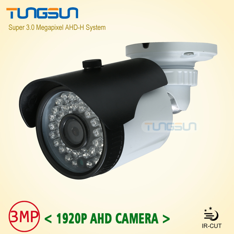 New CCTV 3MP 1920P Camera ahdh system Bullet Video Surveillance Outdoor Waterproof 36 infrared Night Vision AHD Security Camera new super 3mp 1920p ahd camera security cctv metal black bullet video surveillance outdoor waterproof 36 infrared night vision
