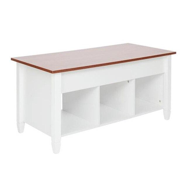 Podnieś stolik kawowy nowoczesne meble ukryty przedział i podnieś blat brązowy stół do salonu