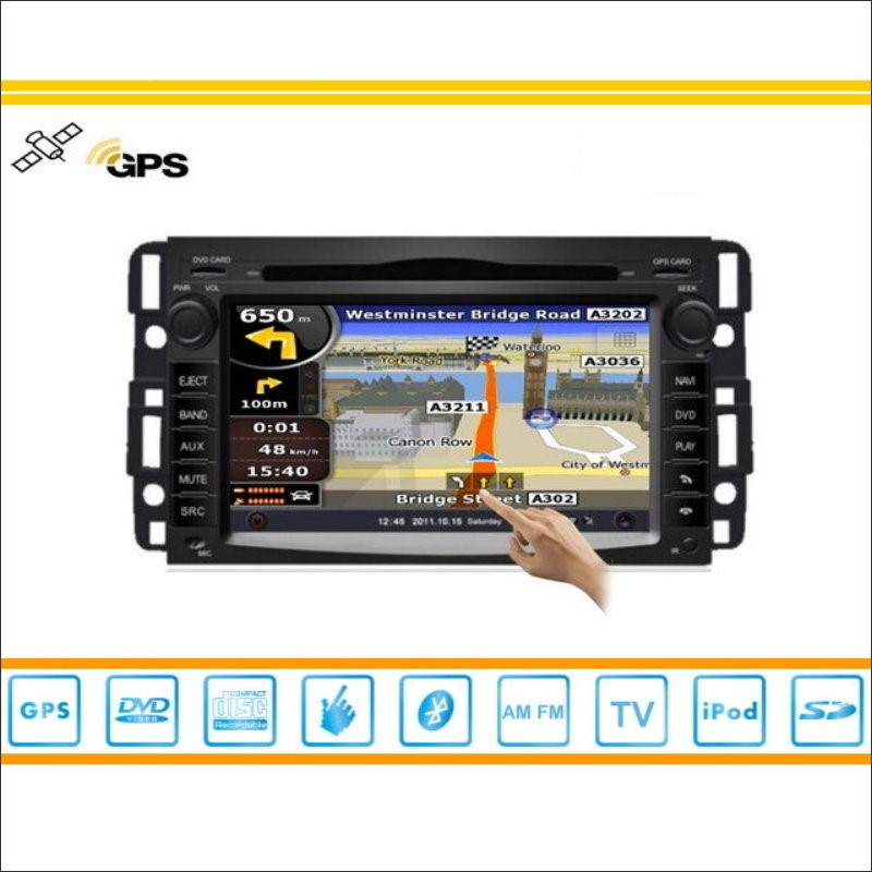 Para Chevrolet Tahoe 2007-2013 Car Radio Stereo Audio Video CD Reproductor de DV