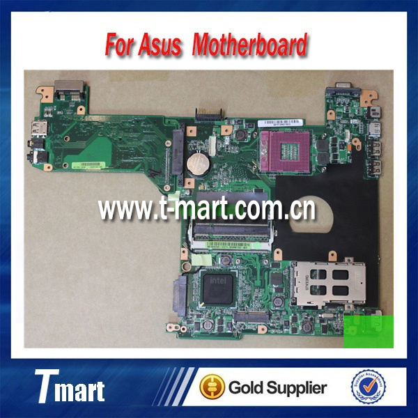 ФОТО 100% working Laptop Motherboard for ASUS F6E System Board fully tested