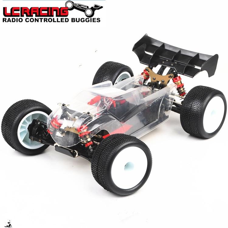 LC RACING 1:14 EMB motor Sin Escobillas Off Road 4WD RC coche truggy rtr chasis