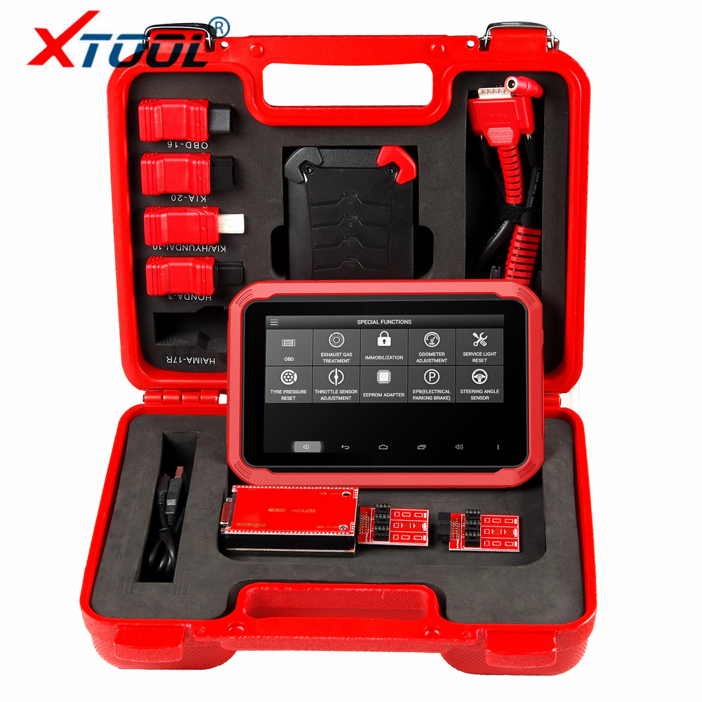 XTOOL X100 PAD Auto Key Programmer For Cars OBD2 Scanner DPF BMS Throttle Reset Car Diagnostic Scan Tool Mileage Correction Tool
