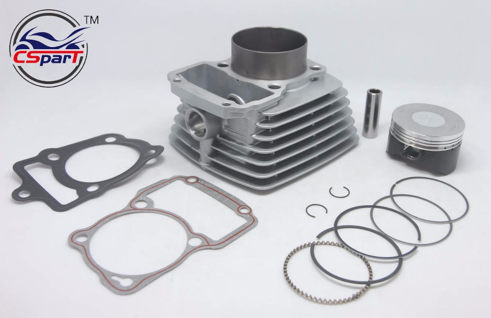 US $33 25 5% OFF|65 5mm Big bore Kit Change air 200CC to 250CC Zongshen  Shineray Taotao Dirt Bike Pit ATVs Quad-in ATV Parts & Accessories from