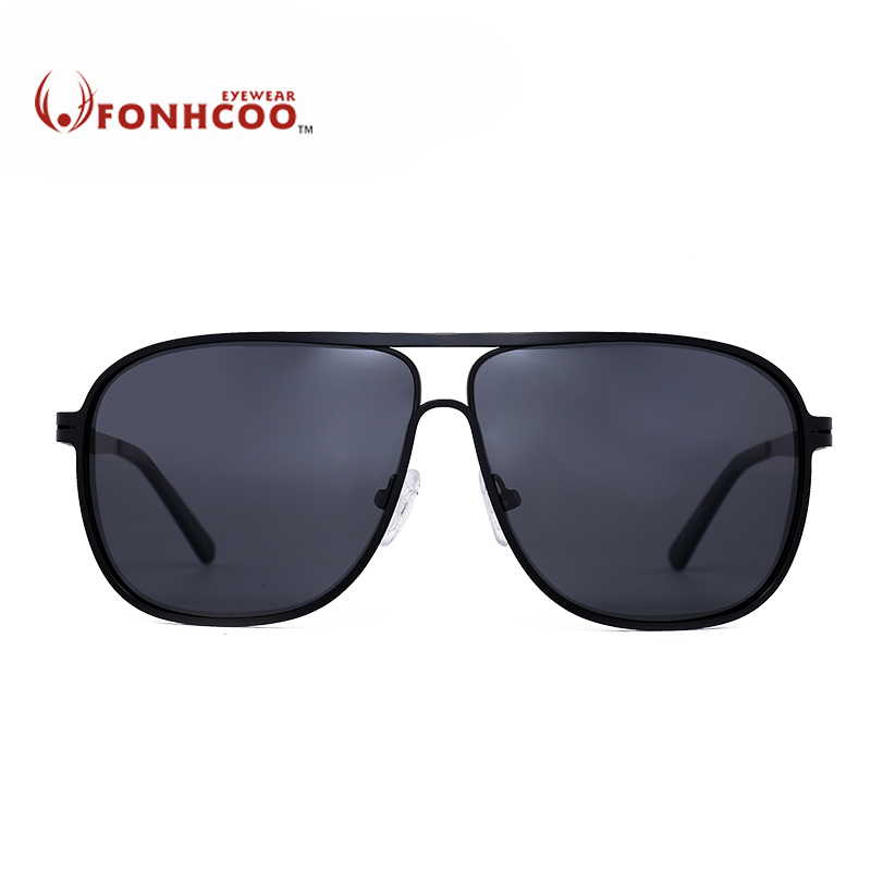 e4f55d73ae4 2018 FONHCOO New Sunglasses Men Polarized Square Retro glasses Driver  Vintage Fishing Sunglasses Eyewear Polaroid Oculos De Sol-in Sunglasses  from Apparel ...
