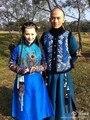 Tv actriz de Drama belleza sin lágrimas mongol mujeres princesa traje de época de invierno Cosplay