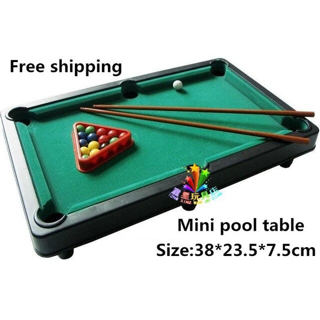 MINI POOL TABLE Flocking Desktop Simulation Billiards Billiards - Mini pool table size