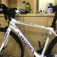 Новинка, углеродные 700C наклейки на раму велосипеда, наклейка на велосипед s 3.8X 37,5 см, матовая/глянцевая наклейка на поверхность, наклейка на раму для велосипеда