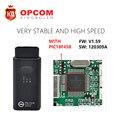 OBD2 OP-COM для Opel OP COM OPCOM V1.59 С PIC18F458 диагностический Инструмент V2012 V1.59 Более стабильным, чем opcom v1.45 бесплатные корабль
