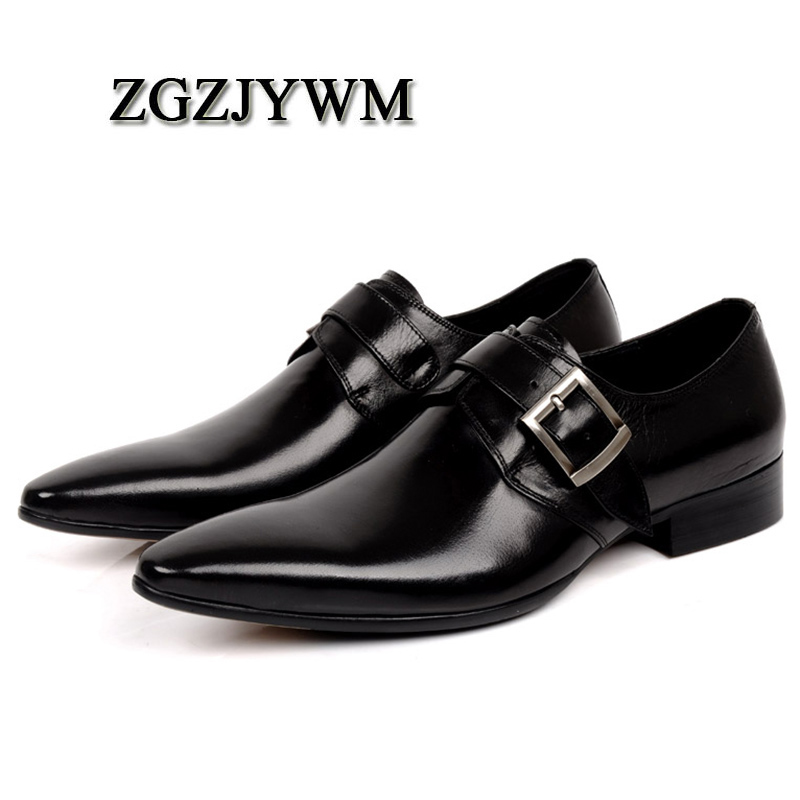 ZGZJYWM New Mens Male Black/Red Business Formal Slip-On Pointed Toe Oxfords Genuine Leather Wedding Mens Office Business ShoesZGZJYWM New Mens Male Black/Red Business Formal Slip-On Pointed Toe Oxfords Genuine Leather Wedding Mens Office Business Shoes