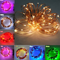 10M 100 LED Christmas Holiday Wedding Party Decoration Festival Copper Wire String Fairy Lights