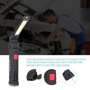 Folding COB LED Work Light Por
