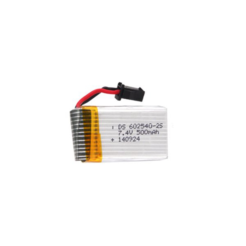 High Quality  RC Quadcopter Spare Part 7.4V 500mAh Battery Rechargeable Lipo Battery For JJRC H8C DFD F183 RC Quadcopter Part 7 4v 500mah battery spare part for h8d h8c jjrc h8c rc quadcopter