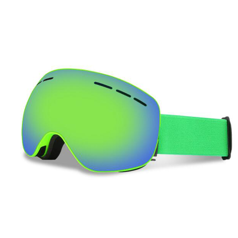 0d0e4558748f ... Winter magnetic ski goggles UV400 anti-fog ski mask skiing glasses for men  women snow