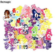 53pcs Care bears cartoon fans anime vintage paster gift toy cosplay funny decal scrapbooking diy sticker phone laptop waterproof