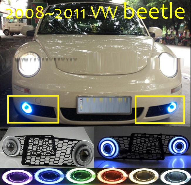 2008~2011 Beetle fog light,Free ship!Beetle headlight,Touareg,sharan,Golf7,polo,passat,magotan,Beetle day lamp touareg taillight 2011 2014year free ship sharan golf6 routan polo passat magotan jetta vento golf7 touareg rear lamp