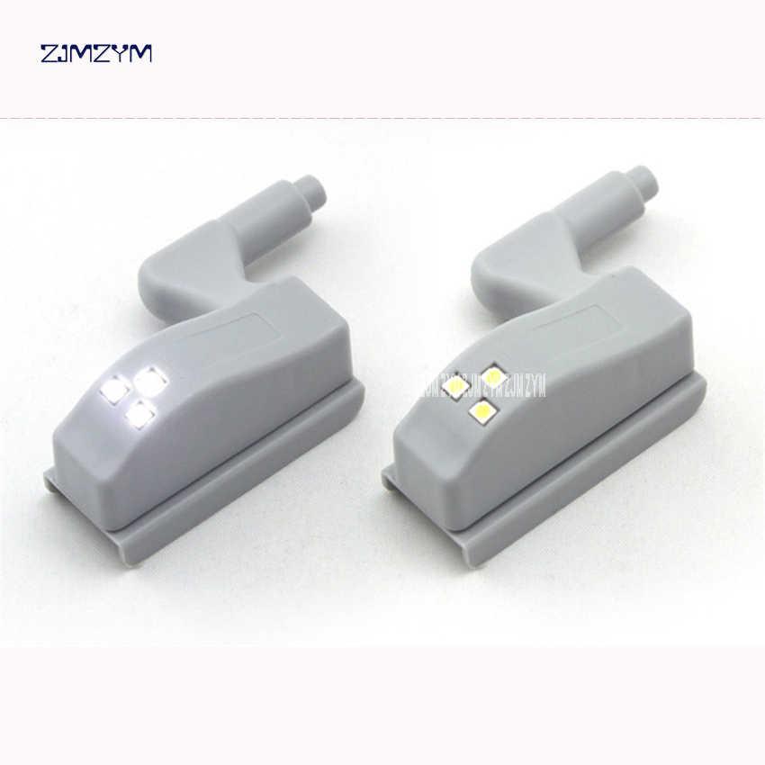 1 pc LED Sensor Cahaya Universal Kitchen Bedroom Living Room Kabinet Lemari Closet Lemari Engsel Inner Light Lampu Induksi