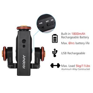 Image 4 - Andoer L4 PRO caméra motorisée vidéo Dolly échelle Indication piste électrique curseur pour Canon Nikon Sony appareil photo reflex numérique Smartphone
