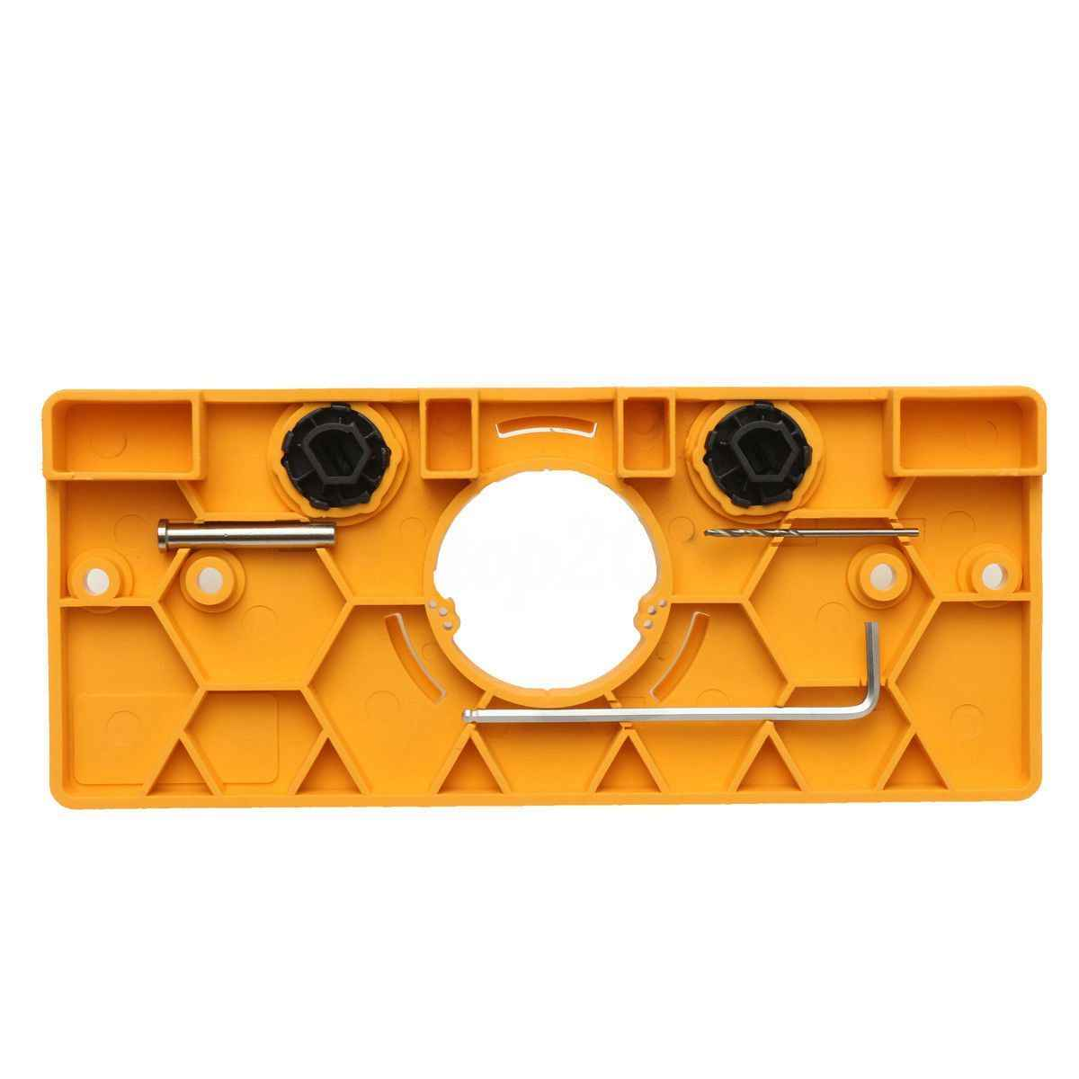 35mm כוס סגנון ציר משעמם לנענע תרגיל מדריך סט דלת חור תבנית עבור Kreg כלי