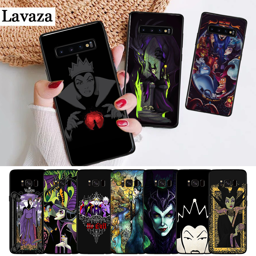 Lavaza Snow White berry Maleficent Silicone Case for Samsung S6 Edge S7 S8 Plus S9 S10 S10e Note 8 9 10 M10 M20 M30 M40 in Fitted Cases from Cellphones Telecommunications