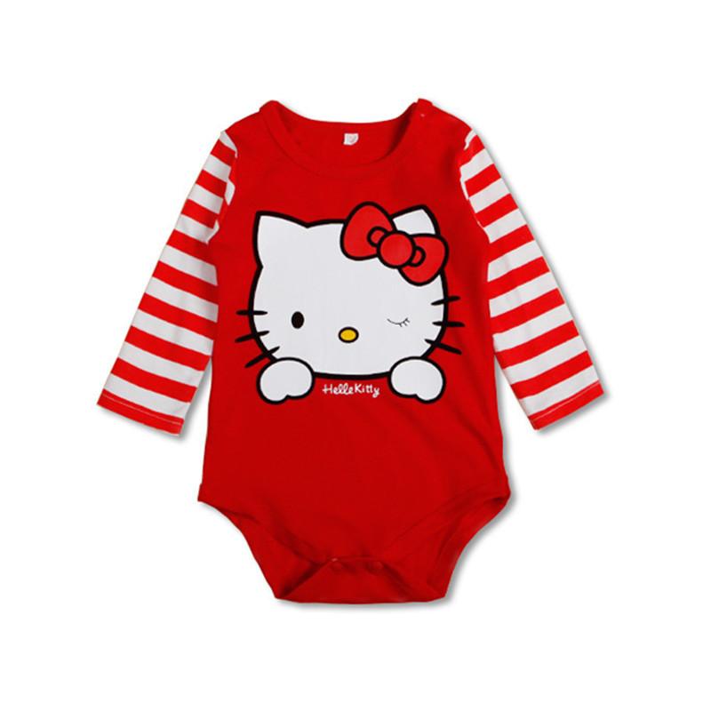 HTB1N6xCRVXXXXb4XXXXq6xXFXXXb - 2016 New Bodysuits For Baby Girls Long Sleeve Body Infant Bebe Boys Flowers Hello Kitty Spring Fall Brand Clothing