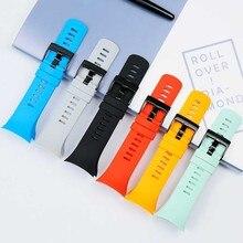 Rubber strap men's watch accessories for SUUNTO diving silicone strap outdoor sports wrist strap women's strap