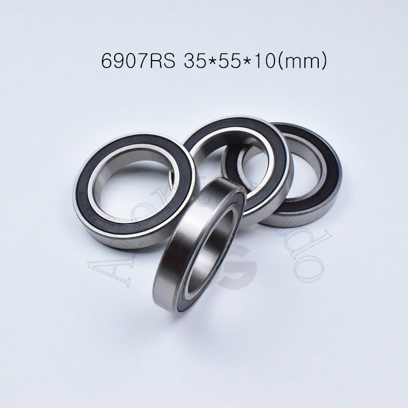 6907RS  35*55*10(mm) 1Piece free shipping bearings Rubber seal bearing Thin wall bearing 6907 6907RS chrome steel bearing6907RS  35*55*10(mm) 1Piece free shipping bearings Rubber seal bearing Thin wall bearing 6907 6907RS chrome steel bearing