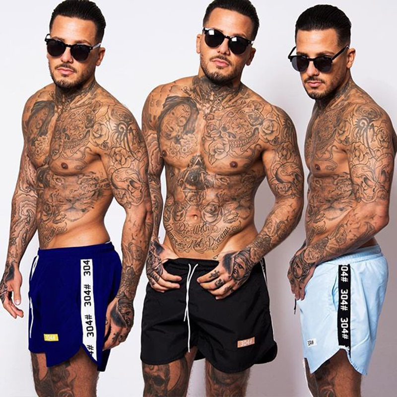 587ce59238 2018 NEW Brand 304Clothing Mens Shorts Summer Fashion Casual Beach shorts  Slim Fit Short Pants Plus Size XXXL Trunks-in Casual Shorts from Men's  Clothing on ...