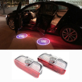2x Car LED Door Welcome Light Logo Projector For VW Golf 5 6 7 Jetta MK5 MK6 Tiguan Touareg Passat B6 B7 CC Sharan Scirocco EOS