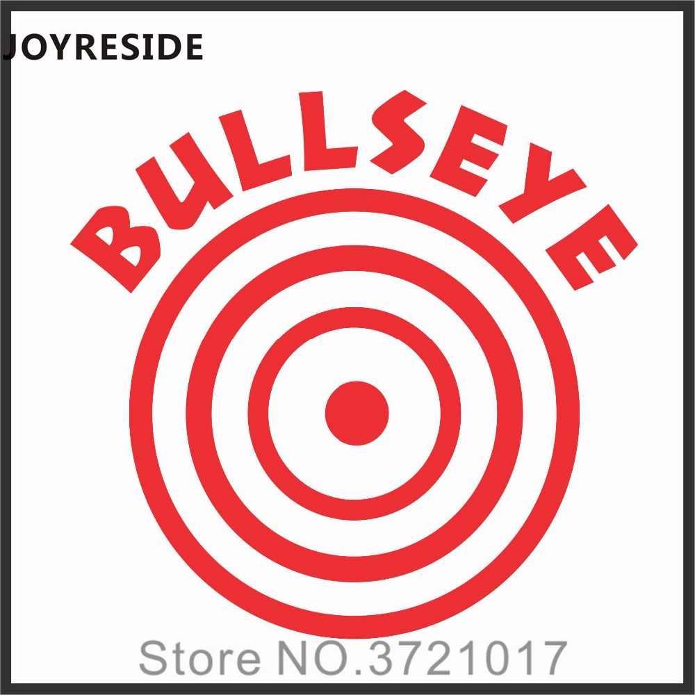 Joystain Bullseye цель прицеливания туалет и ванная комната ободок для унитаза Танк Наклейка на стену виниловая декоративная наклейка искусство съемный дизайн XY099