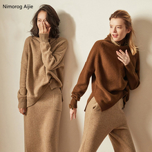 2020 Autumn Winter sweater women turtleneck Cashmere sweater Loose women sweater