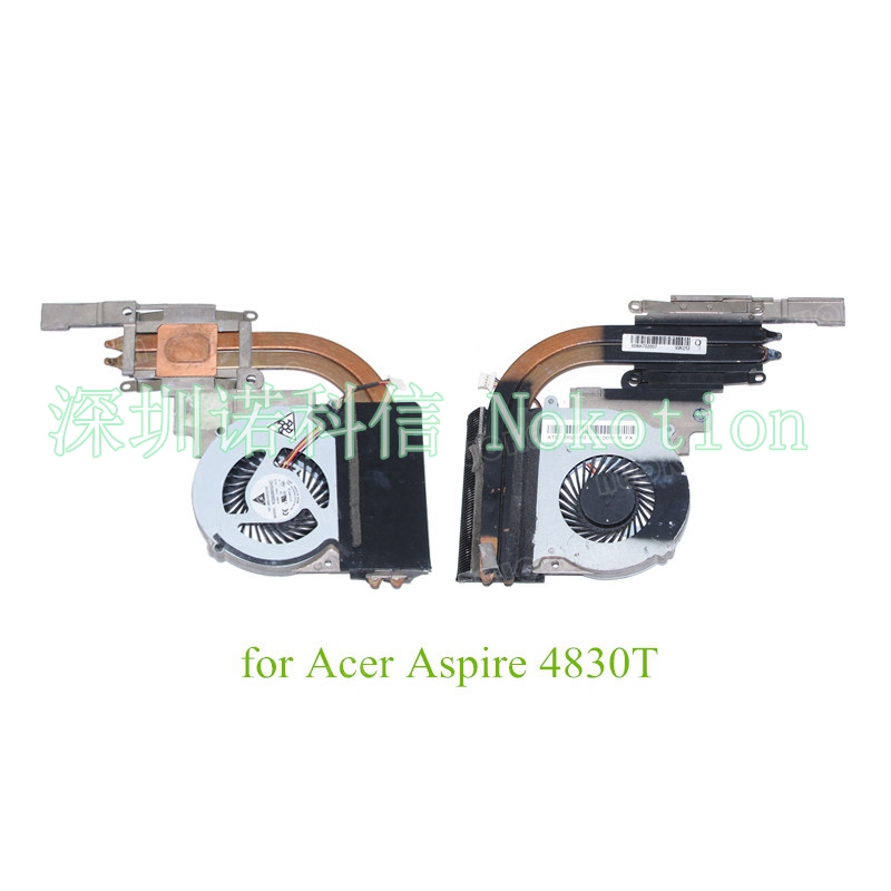 AT0IO002DX0 Heatsink for Acer Aspire 4830 4830T CPU Cooling Fan 100%test for acer aspire v3 772g notebook pc heatsink fan fit for gtx850 and gtx760m gpu 100% tested