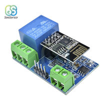 ESP-01 ESP-01S ESP8266 5V WiFi Relay Module Smart Home Remote Control Switch Phone APP Controller Wireless WIFI Module Borad(China)