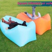 Fast Inflatable Air Sofa Sleeping Lazy Bag Lay Bag Camping Air Sofa Sleeping Beach Bed Banana