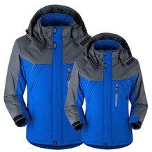Winter Coat  Parkas Bomber Jacket Men/women Outdoor Hiking Big Size Neutral Waterproof and Warm