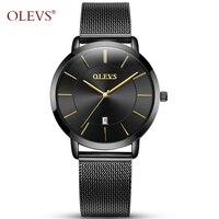 52cd6cd51ba OLEVS Charme Mulheres Relógios Top Marca de Luxo de Ouro Caso Relógio de  Senhoras Relógio de