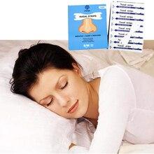 3000 шт = 100 коробок(66X19 мм) запорный храп и улучшение дыхания плавно патч для носа взрослых Анти-храп носовые полоски